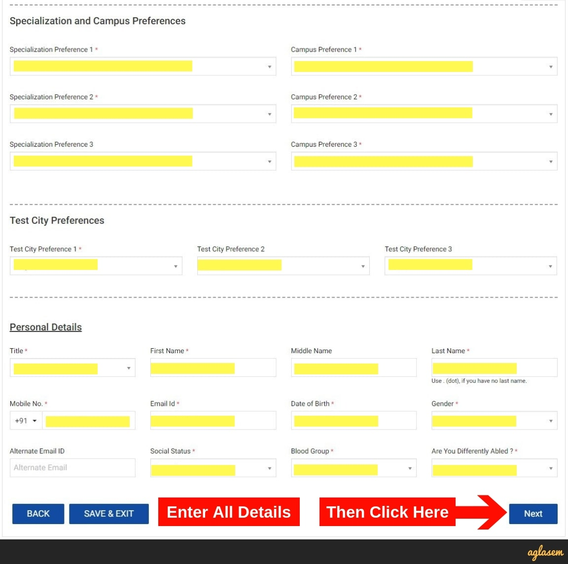 SRMJEEE 2019 Application Form