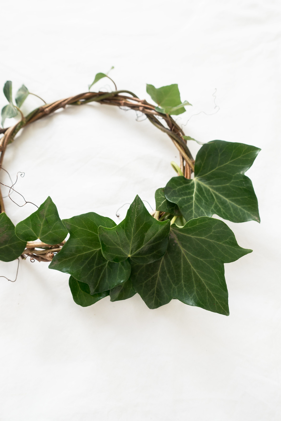 Making A Foraged Wreath