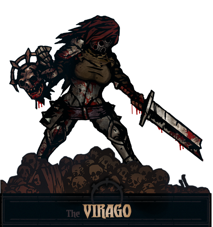 Virago The Red Tanja- Leper skins