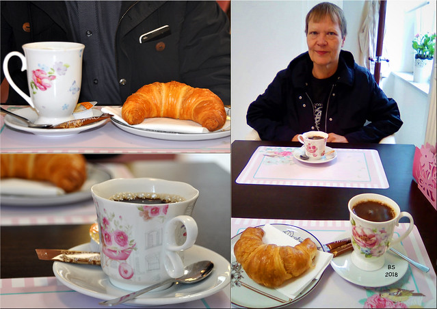 Bad Rappenau im November 2018 ... Kaffee und Croissant zum kleinen Frühstück ... Fotos: Brigitte Stolle