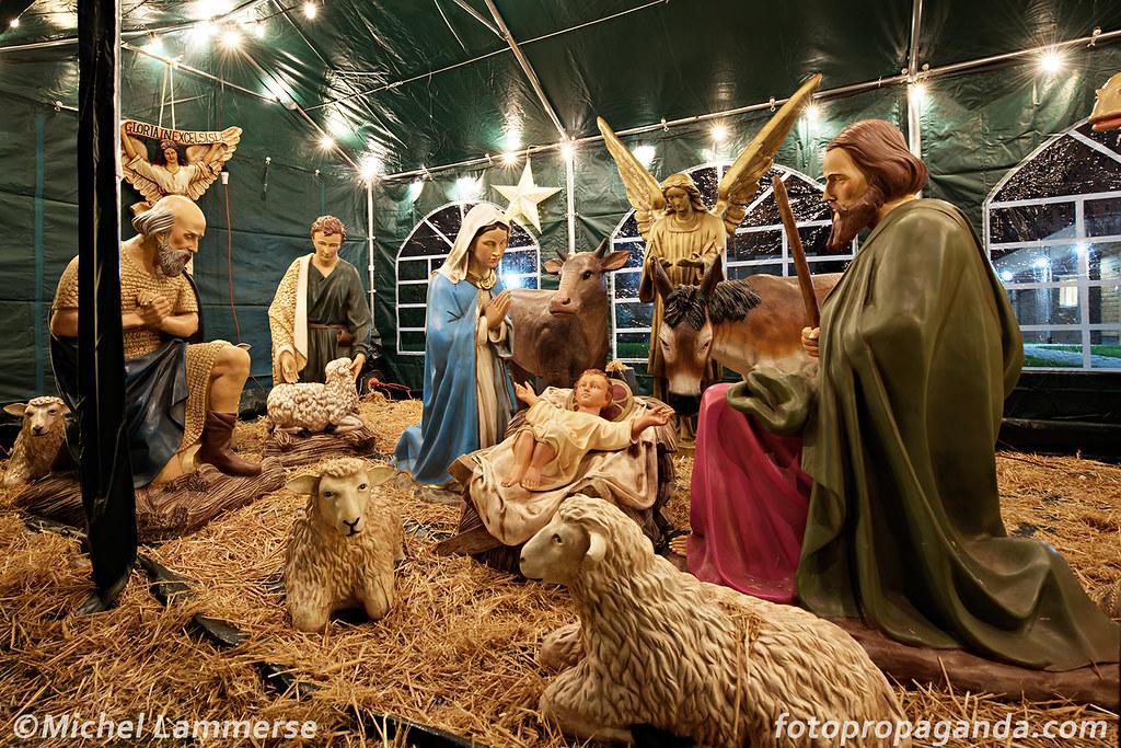 kerststal bruishuis