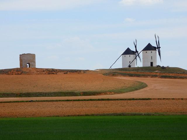 Molinos de viento de Tembleque (Toledo)