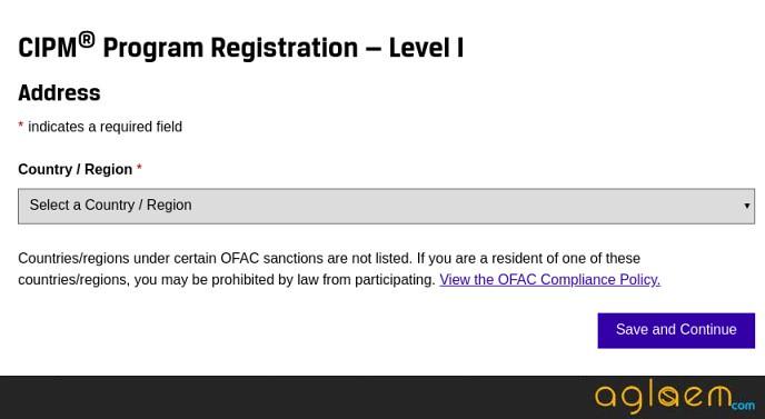 Cipm examination fees