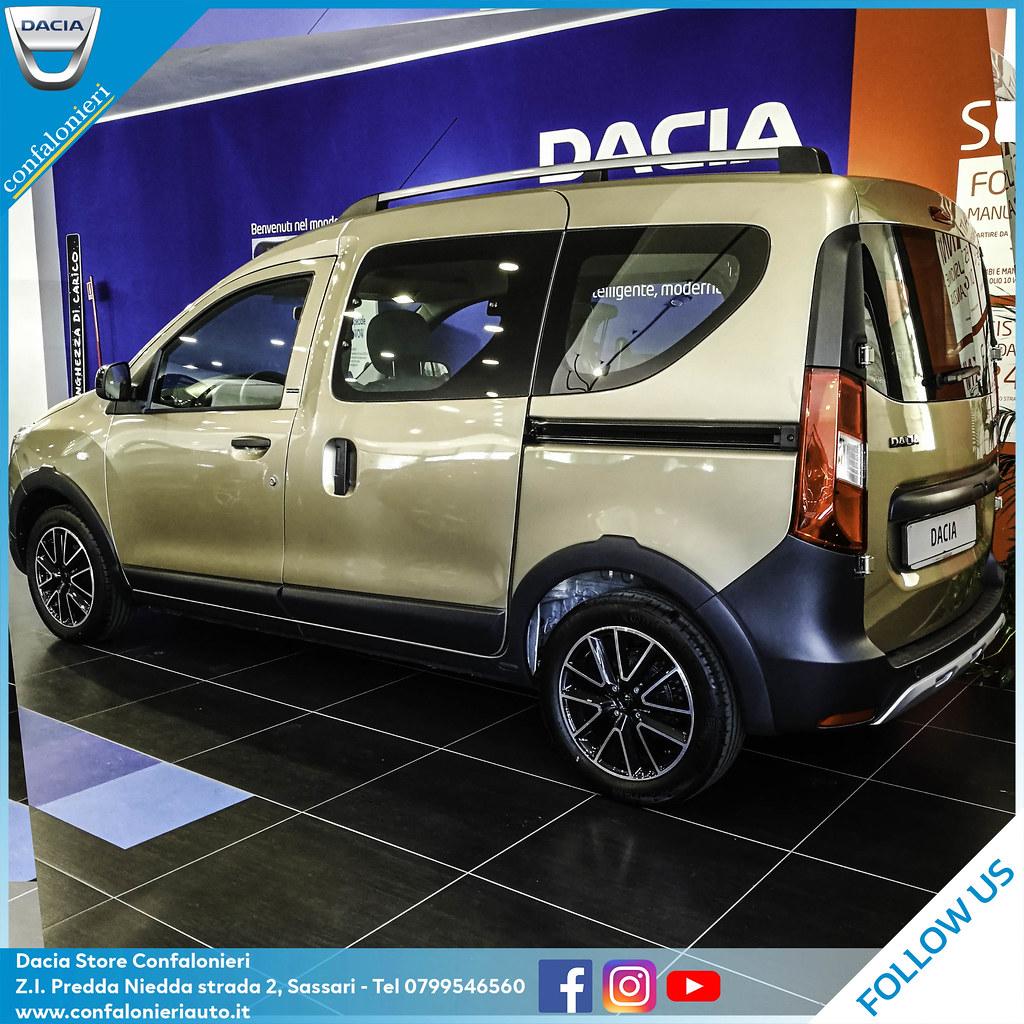 Dacia Dokker: multispazio con spirito crossover ...