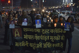 Candlelit March, 2nd December. | by Bhopal Medical Appeal