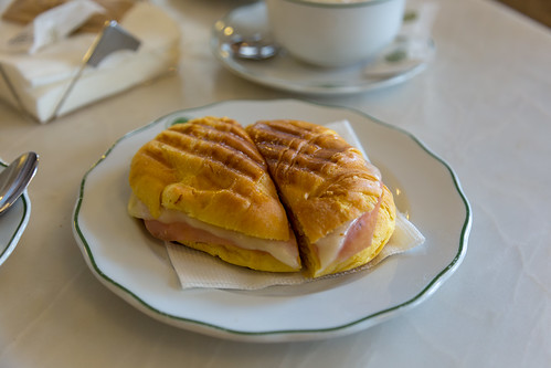 Ham and Cheese Croissant | by kaszeta