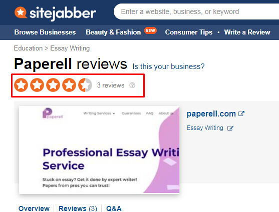 paperell sitejabber review