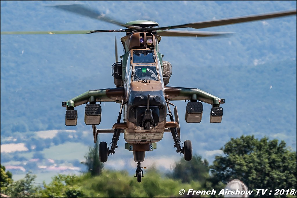 Eurocopter EC665 Tigre Team hélicoptère ALAT Aerotorshow 2018 – Fête aérienne de Valence Chabeuil Canon Sigma France contemporary lens Meeting Aerien 2018
