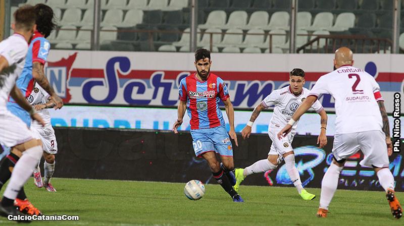 Andrea Vassallo, esperienza rossazzurra conclusa con 13 presenze e una rete
