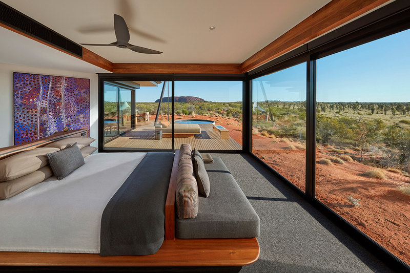 Longitude 131 is the perfect romantic retreat for a special trip to Australia