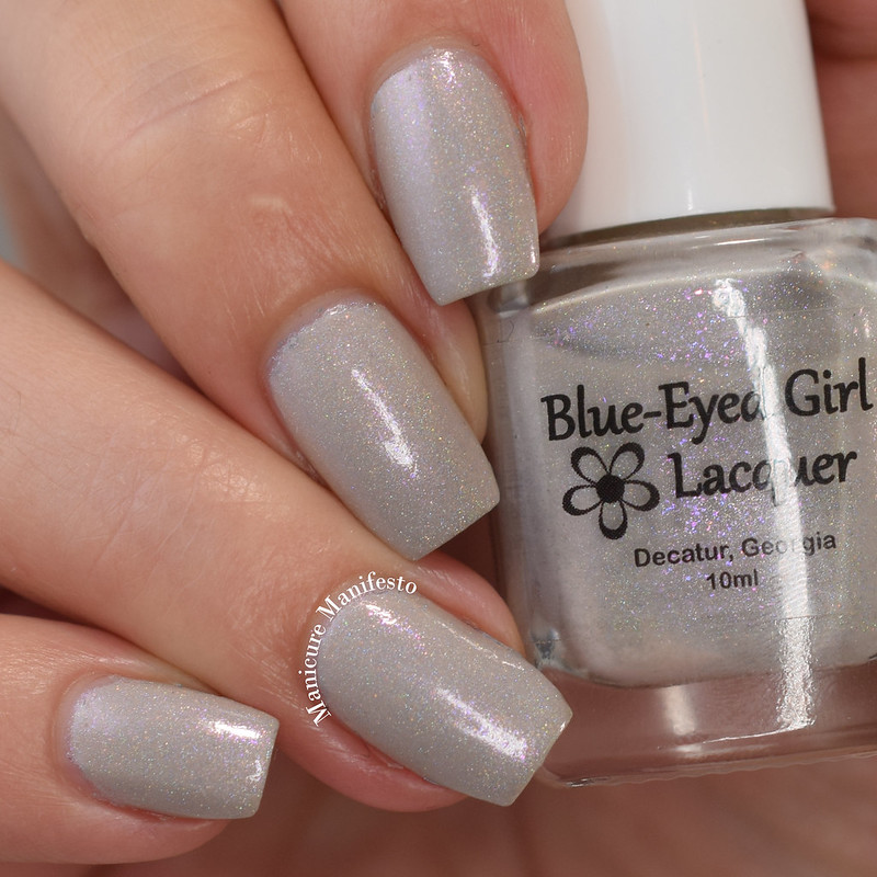 Blue Eyed Girl Lacquer Lilac Blondes On The Beach review