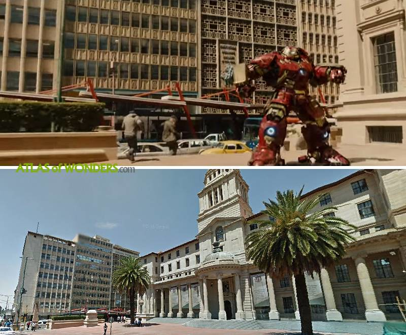 Iron Man in Johannesburg