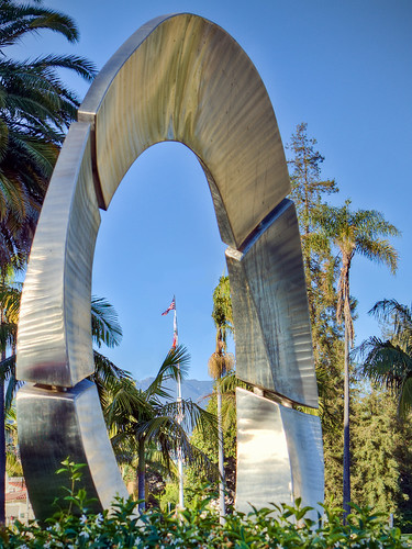 Metal Arch by Ken Pfeiffer | by cameraclub231