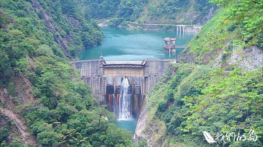 大甲溪是中台灣的母親之河,她提供水源也提供電力。