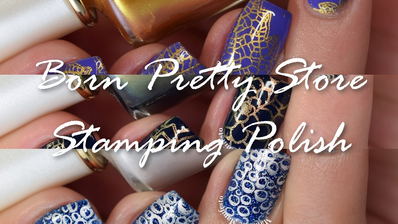 Born Pretty Store Stamping Polish Review