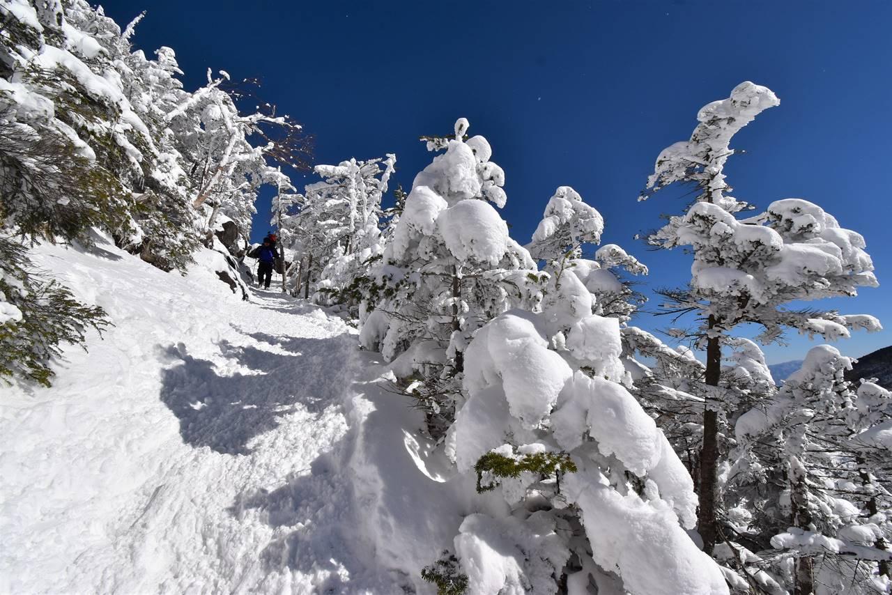北横岳 日帰り雪山登山