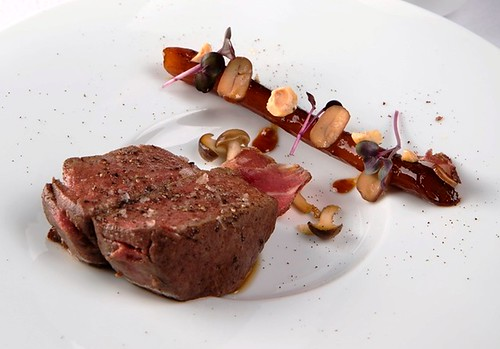 02.The Tasting Room-Smoked Grim Beef Tenderloin with Coffee Salsify and Hazelnut | by OURAWESOMEPLANET: PHILS #1 FOOD AND TRAVEL BLOG