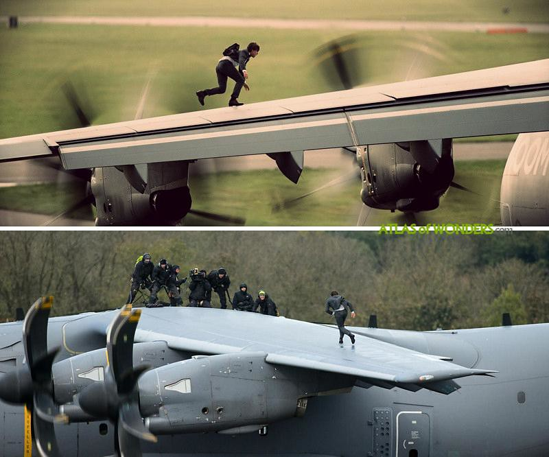 Mission Impossible Plane scene location