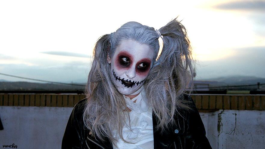 maquillaje de Halloween casero