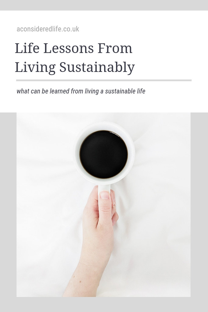 What I've Learned About Living Sustainably