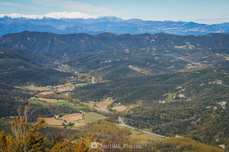 Valle del Brugent desde el Santuari de la Salut