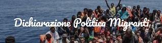 presa di posizione contro la politica immigratoria del Governo