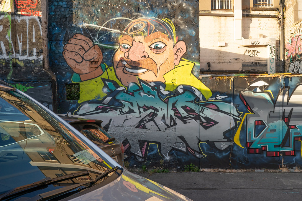STREET ART AT THE TIVOLI CAR PARK - NOVEMBER 2018 019
