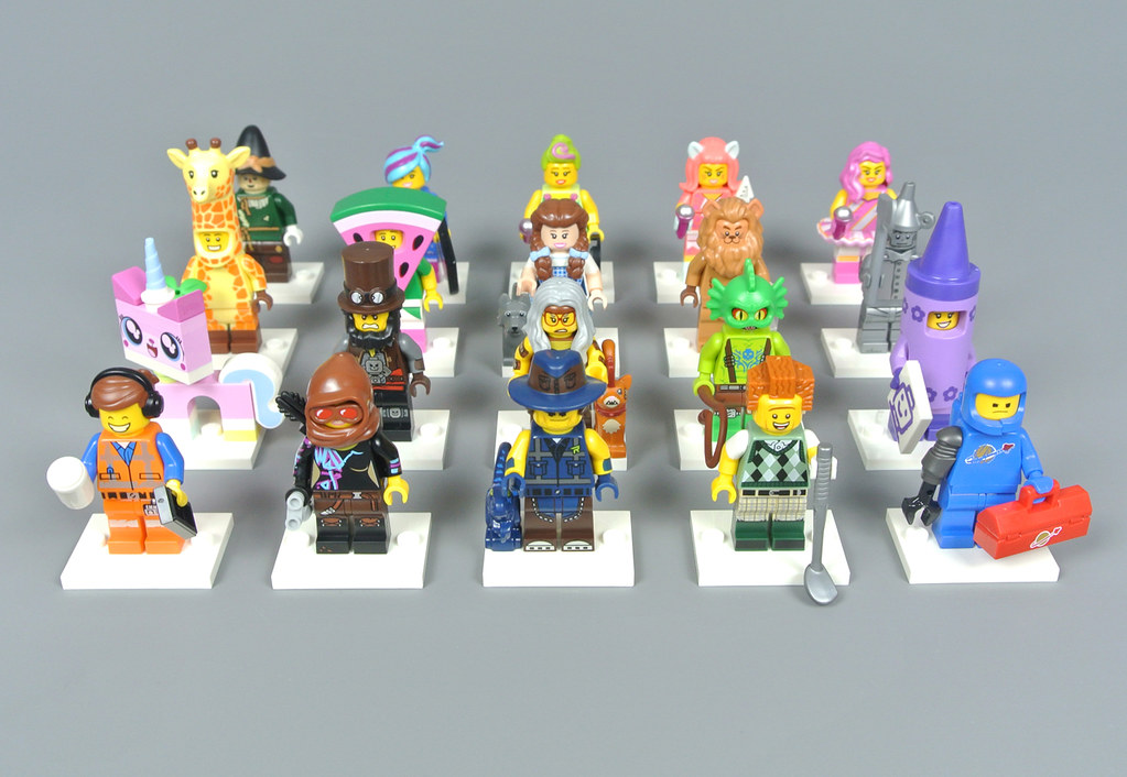 LEGO The Movie Series 2 Wizard of Oz Minifigure Series Complete Set of 20 71023
