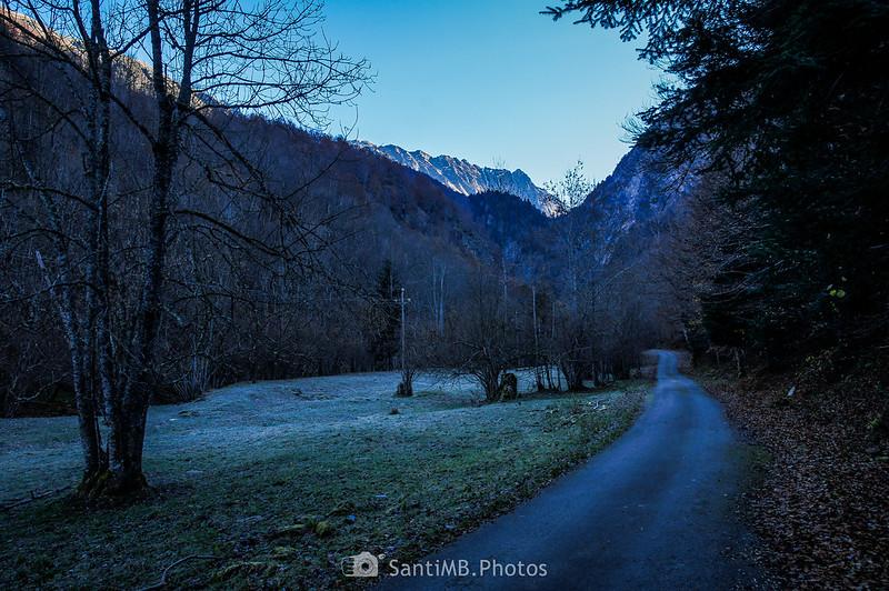 El Tuc de Canejan en la Val de Toran