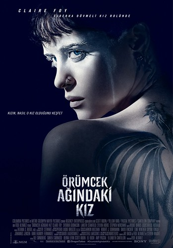 "ÖRÜMCEK AĞINDAKİ KIZ ""THE GIRL IN THE SPIDER'S WEB"" (2018)"