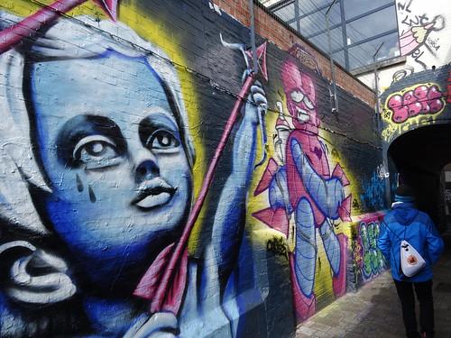 Graffitis en Gante