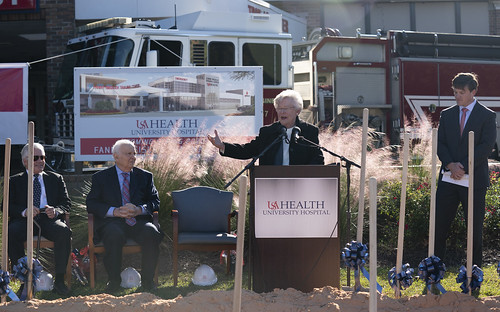 USA Trauma Center Groundbreaking | by Governor Kay Ivey