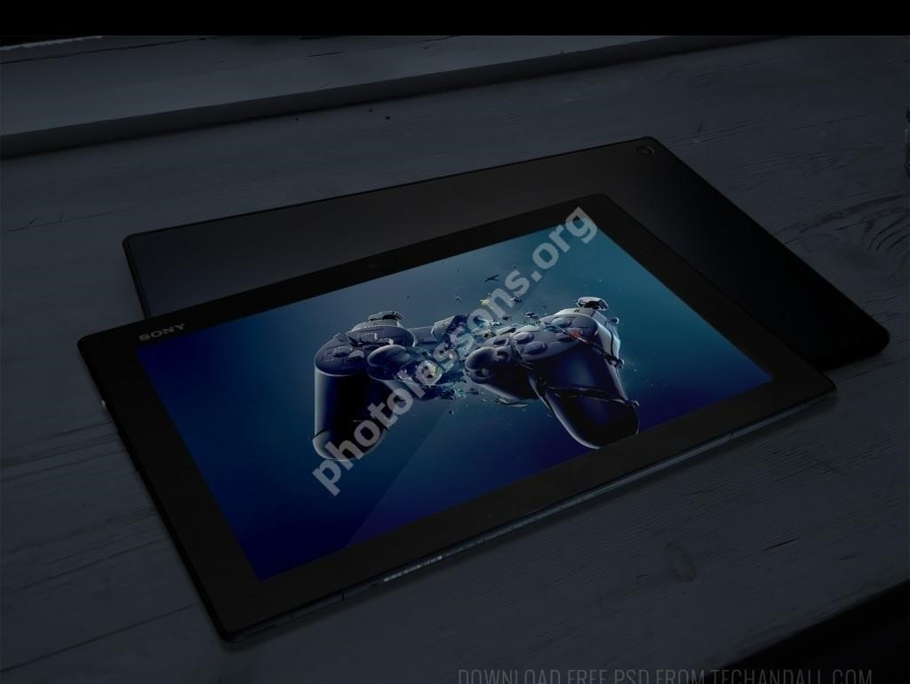 Sony Xperia format .PSD download for Photoshop