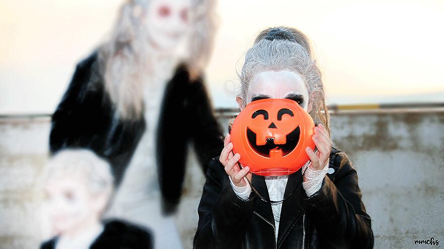disfraces en familia para Halloween momias zombies