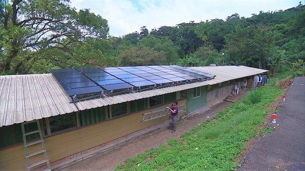 這幾年有許多部落裝設綠電,邵族人意識到綠電可能是解決高電價的一條出路。