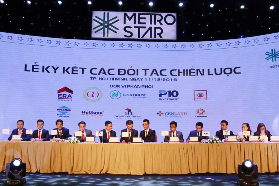 Lễ ký kết các đối tác chiến lược F1 với dự án Metro Star