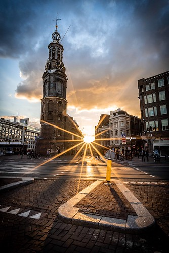 Sunset over Amsterdam | by Seb_f_s
