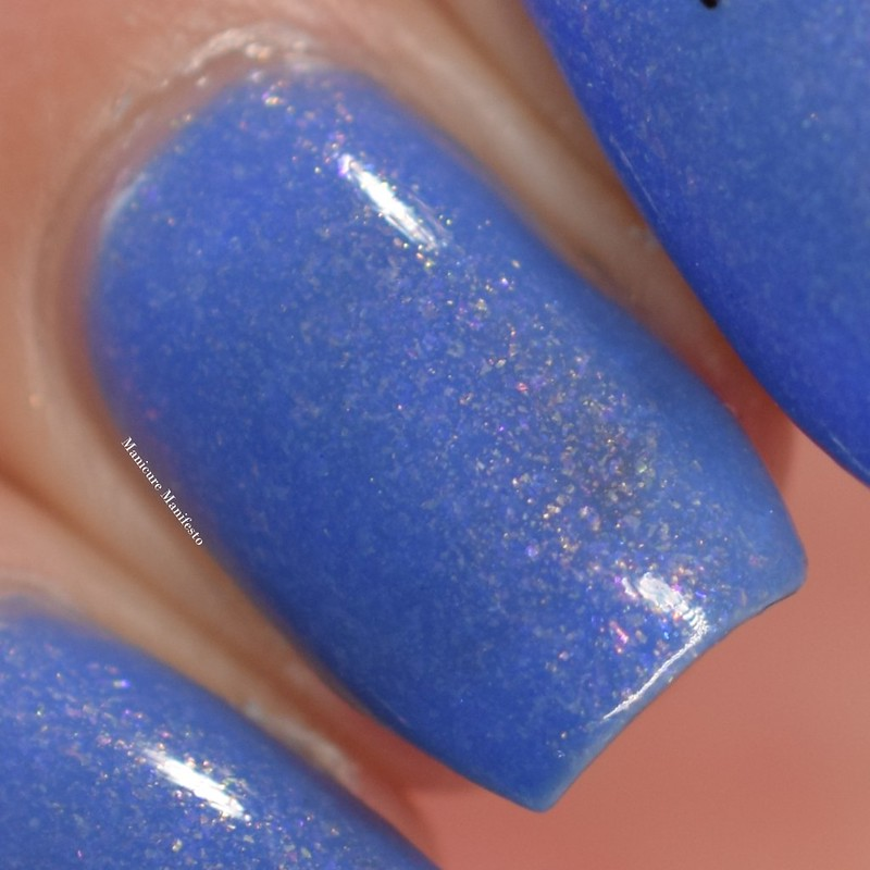 Blue Eyed Girl Lacquer The Stars Are Crystal Lights review