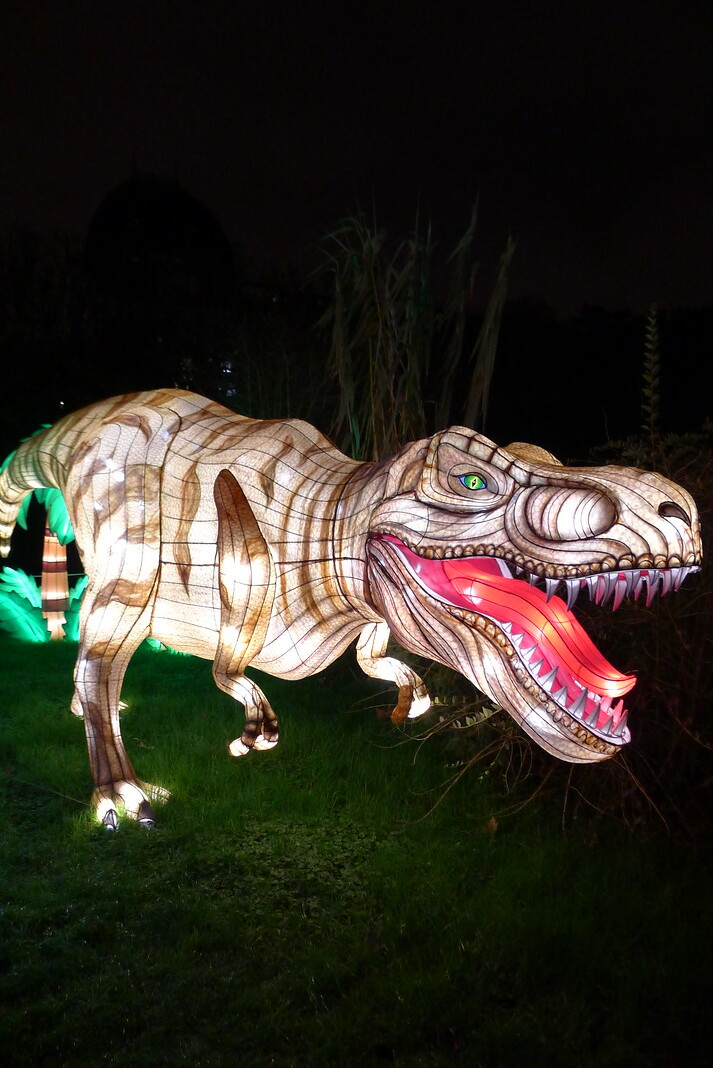 Notre visite à l'événement Espèces en voie d'illumination au Jardin des Plantes