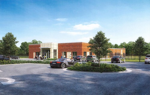 Childcare facility rendering