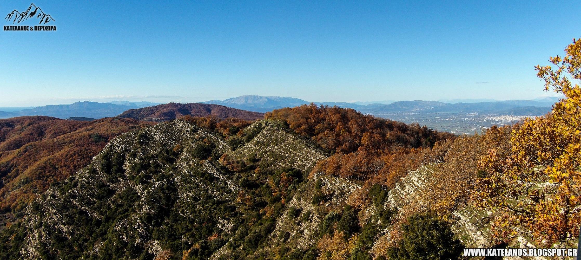 αρακυνθος ορος βουνο αιτωλοακαρνανιας