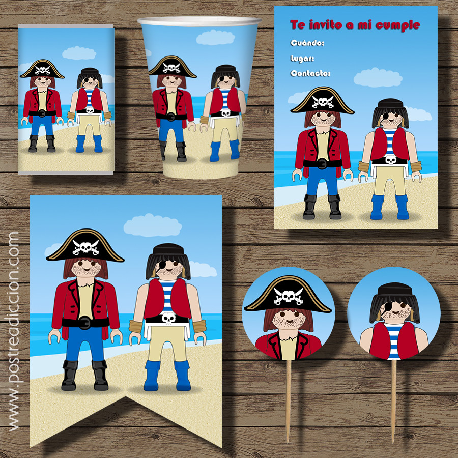 kit fiesta piratas playmobil