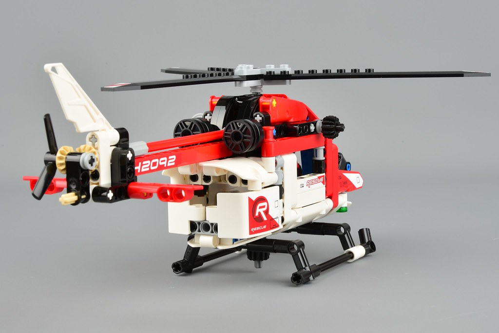 Lego Helicopter Review