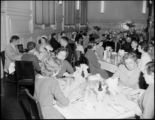 R.R.R. [Railway Refreshment Room] Central Station. General view of diners at tables. | by NSW State Archives and Records