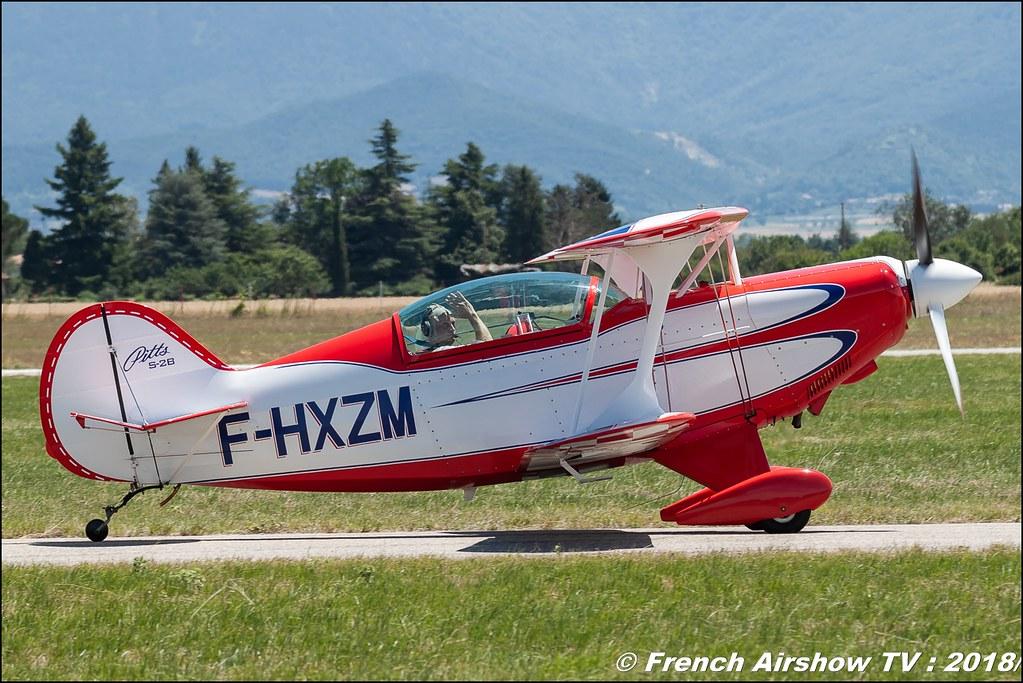 Pitts S-2B - F-HXZM Aerotorshow 2018 – Fête aérienne de Valence Chabeuil Canon Sigma France contemporary lens Meeting Aerien 2018