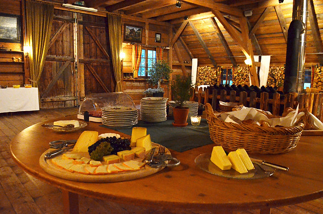 Food at Breakfast barn, Waldhotel Fehrenbach, Black Forest, Germany