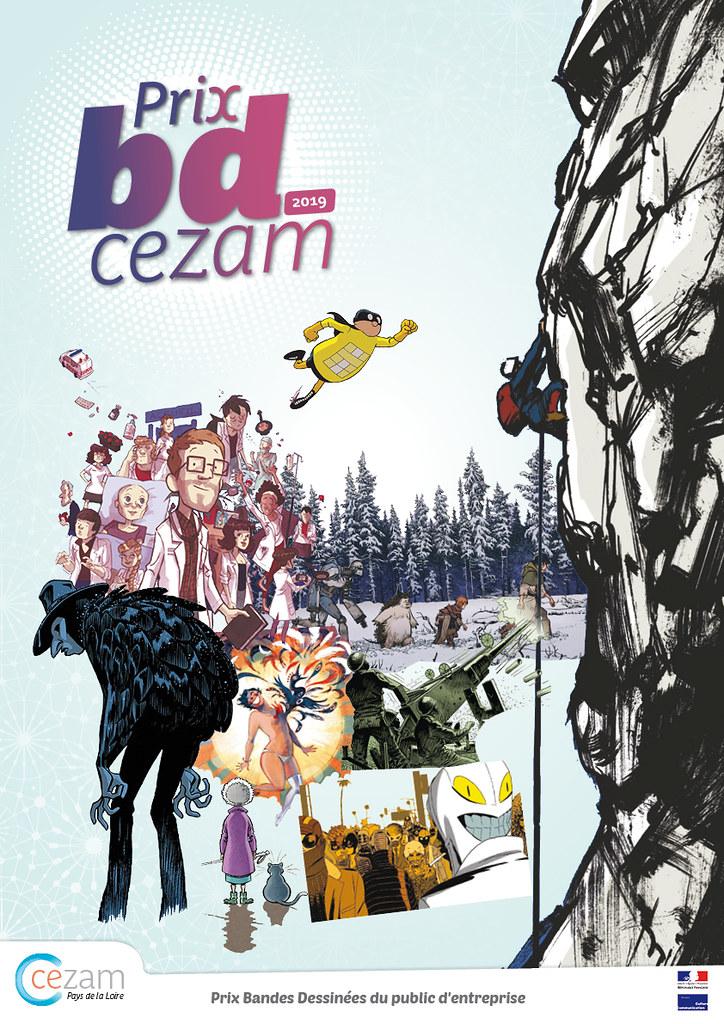 Prix BD Cezam 2019