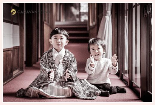 挙母神社で七五三の出張撮影 愛知県豊田市