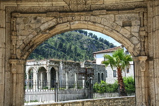 Pasha's gate (18th century), Berat, Albania | by Frans.Sellies
