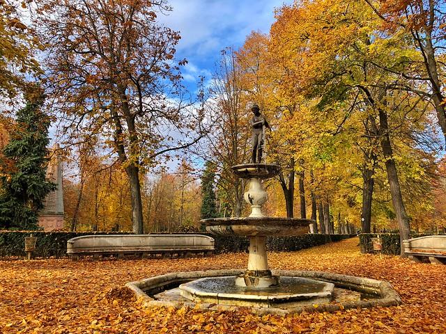 Jardín de la Isla (Otoño en Aranjuez)